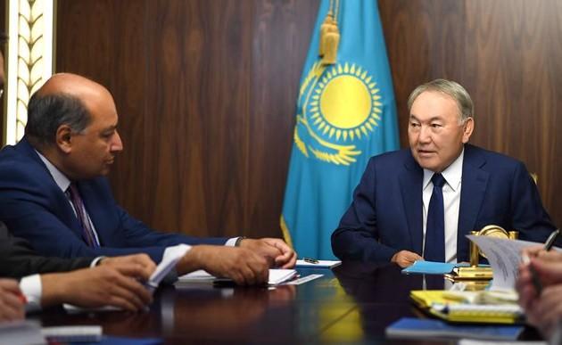 Нурсултан Назарбаев встретился спрезидентом ЕБРР
