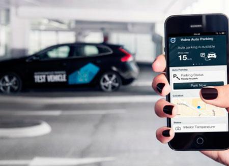 Volvo сумеет парковаться без водителя
