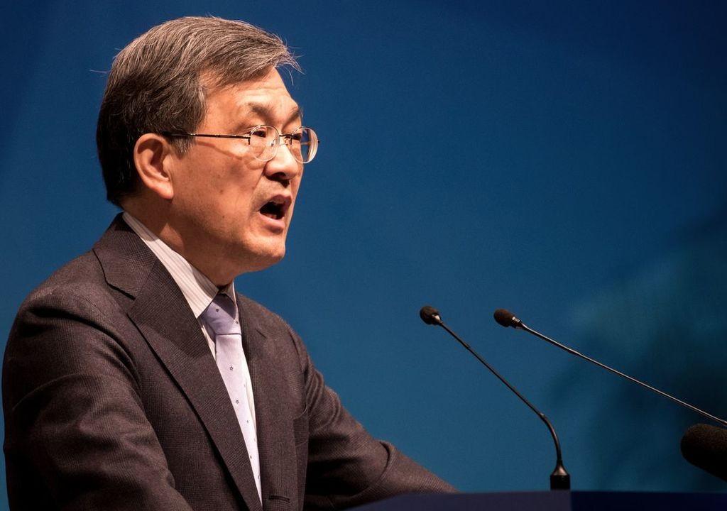 Исполнительный руководитель Самсунг уходит вотставку— Ренхап