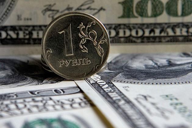 ЦБ России поднял границы валютного коридора еще на 20 копеек