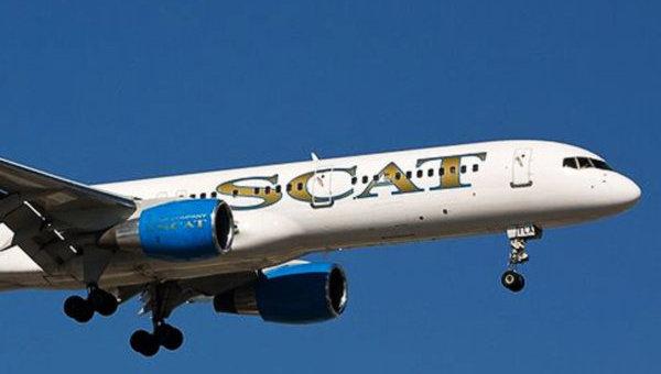 SCAT открывает рейс Астана-Казань