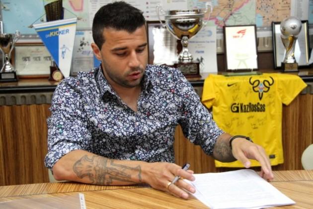 Алексея Еременко представят в качестве игрока «Кайрата»