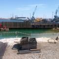 Завершается строительство первого военного пирса в Актау