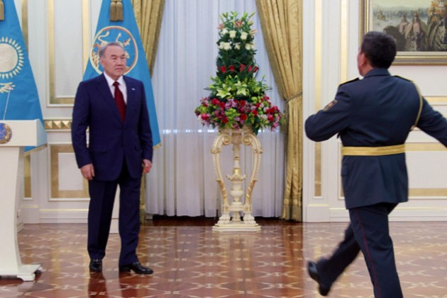 Ряд казахстанцев получил госнаграды