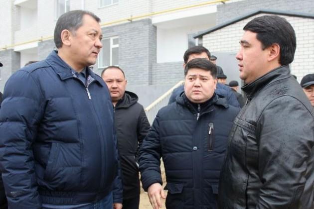 Аким Атырауской области призвал соблюдать культуру строительства