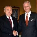 Назарбаев встретился с королем Бельгии