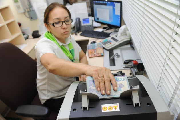 ИзКазахстана заграницу переведено 398,8млрд тенге