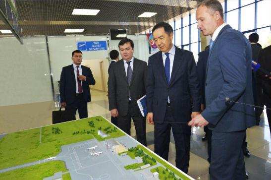 Премьер-министр проверил реконструкцию аэропорта Петропавловска