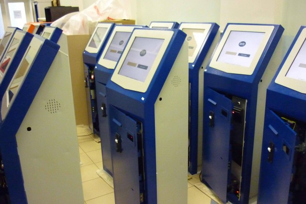 ЖССБ закупает собственные терминалы