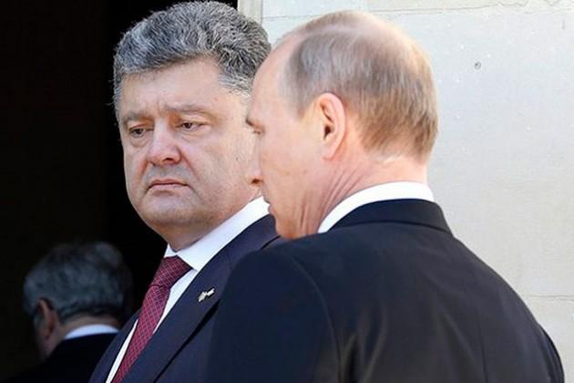 Порошенко попросит у Путина мира?