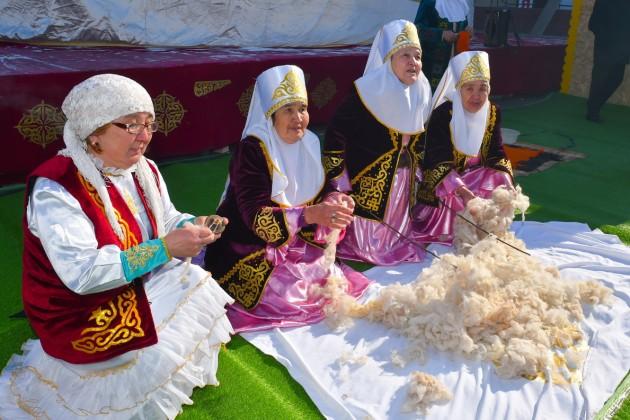 Конкурс юрт проводится в Северо-Казахстанской области
