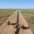 Газопровод «Сарыарка»: пройдено более половины пути