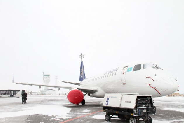 Регулярность авиарейсов в Казахстане выросла на 3%