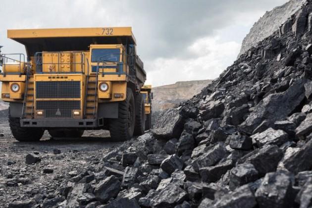 Добыча угля достигла почти 118 млн тонн