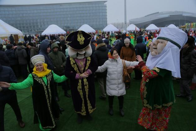 ВНаурыз территорию ЭКСПО посетили более 10тысяч человек