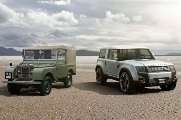Новое поколение Land Rover Defender лишится рамы