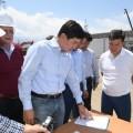 Бауыржан Байбек проверил строительство трех предприятий
