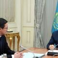 Данияр Акишев доложил Президенту обосновных направлениях работы