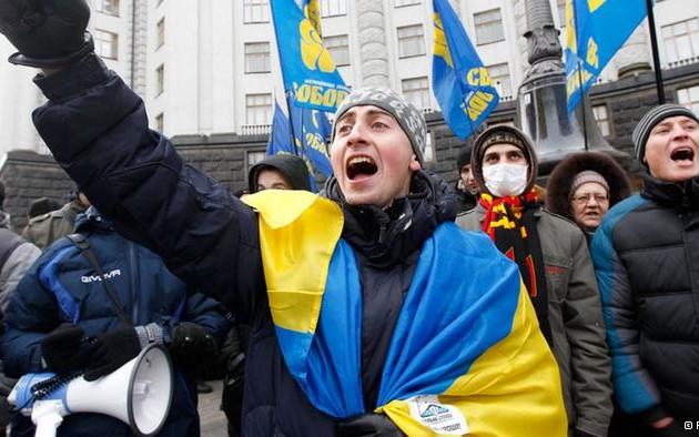 Протесты в Украине усиливают давление на кредитоспособность