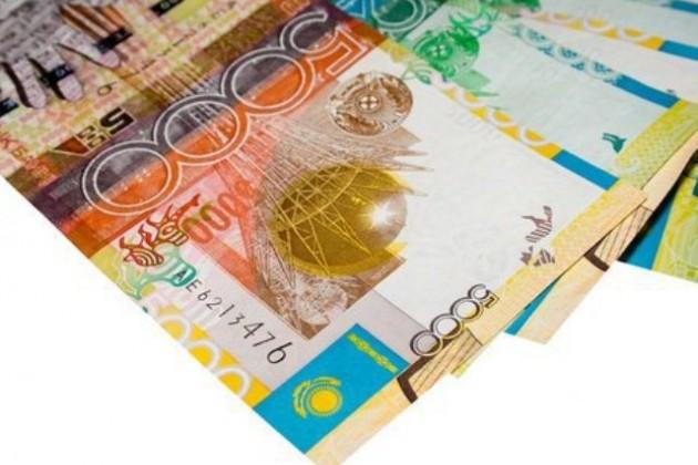 Объем депозитов в тенге увеличился на 8,6%