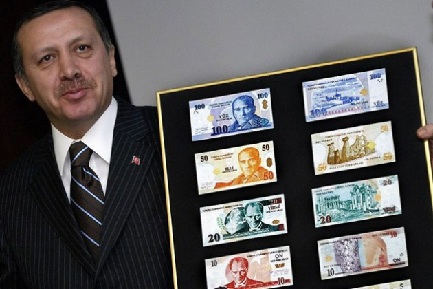 Турецкая лира обновила исторический минимум