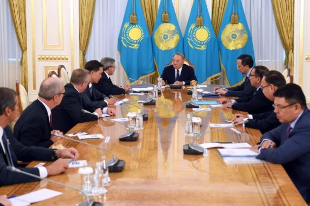 ВКазахстане работают более 500компаний самериканским участием