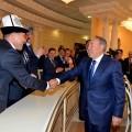 О чем президент говорил с жителями Костанайской области