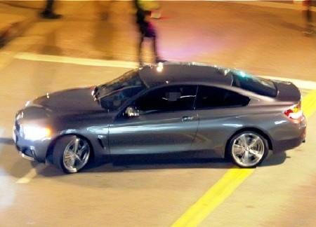 BMW 4-Серии заметили без камуфляжа