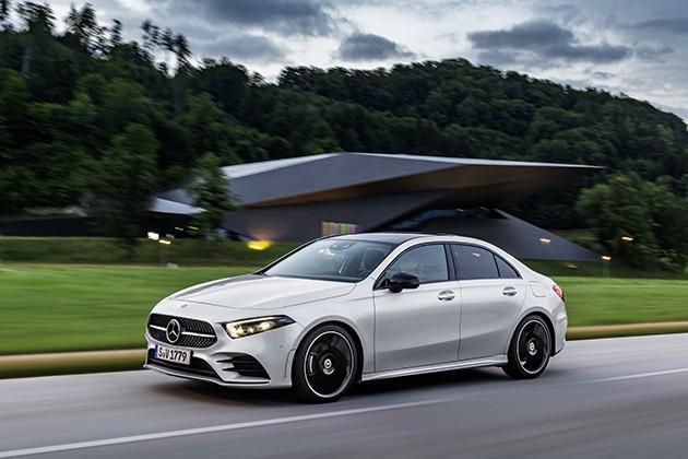 Mercedes-Benz A-Klasse теперь стал седаном