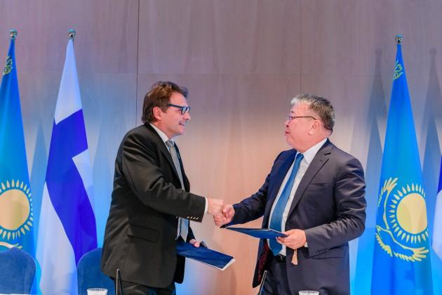 Финские компании модернизируют ЖКХ Казахстана