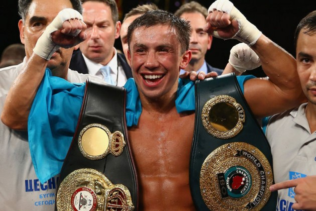 Головкину вручили временный титул чемпиона WBC