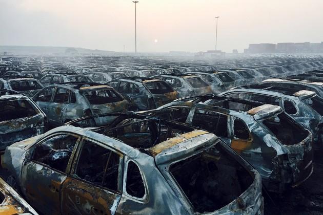 Страховые убытки из-за взрывов в Тяньцзине могут достичь $1,5 млрд
