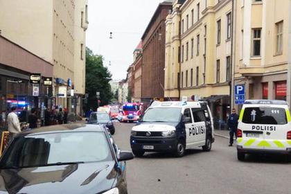 ВХельсинки мужчина врезался втолпу нагрузовике