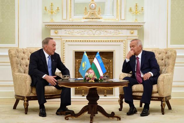 Нурсултан Назарбаев и Ислам Каримов обсудили вопросы сотрудничества