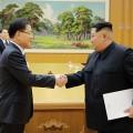 Ким Чен Ынопять заявил про объединение сЮжной Кореей