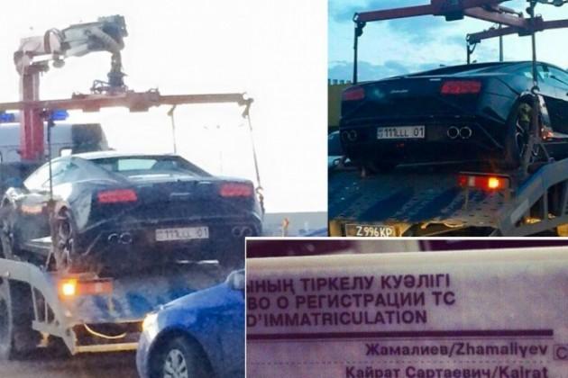 На автомобили Кайрата Жамалиева могут наложить арест