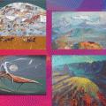 Выставка художников из Шымкента открыта в Астане