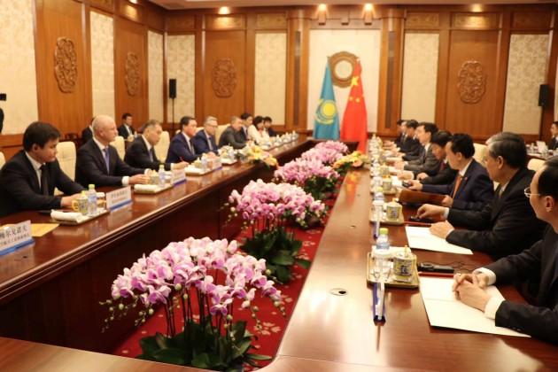 Астана иПекин договорились ореализации 11новых проектов