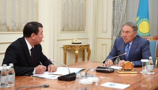 Нурсултан Назарбаев встретился сновым секретарем Совбеза