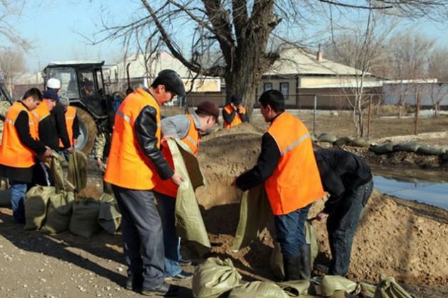 Подсчитан ущерб от паводка в Павлодарской области