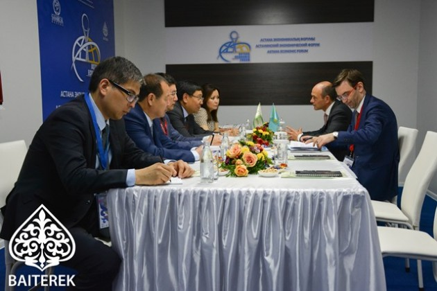 Ерболат Досаев провел переговоры сглавами ЕБРР, ЕАБР иАБР