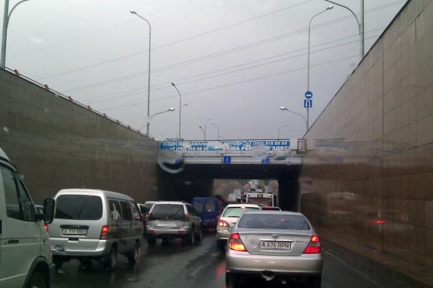 Движение транспорта в Алматы будет ограничено