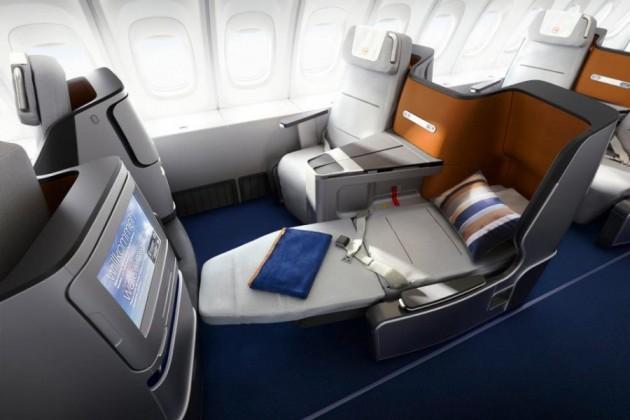 10 авиакомпаний с лучшим в мире бизнес-классом