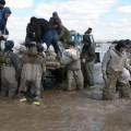 В Карагандинской области прорвало плотину водохранилища