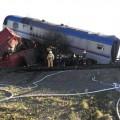 На перегоне Достык - Алашанькоу столкнулись два грузовых поезда