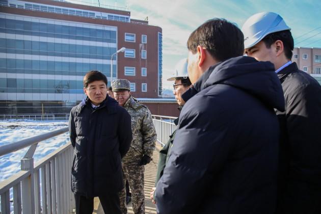 В Алматы укрепляют русло реки Есентай