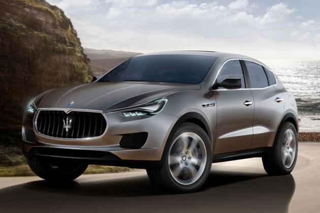 Maserati представила свой первый кроссовер
