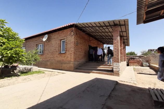 В Арысе завершен ремонт 340 домов
