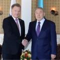 Президенты Казахстана и Финляндии обсудили вопросы двухстороннего сотрудничества
