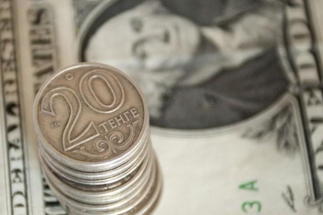 Тенге укрепился кдоллару